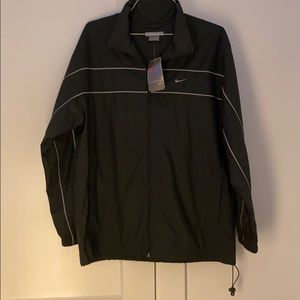 NWT Nike Men's Forest Green Track Jacket - L